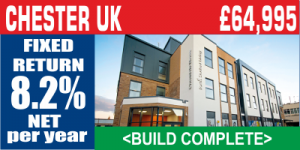 CHESTER UK Student Property Investment For Sale