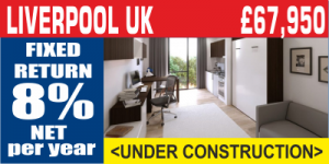 Liverpool UK Student Property Investment For Sale
