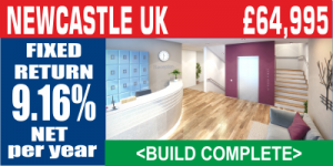NEWCASTLE UK Student Property Investment FOR SALE